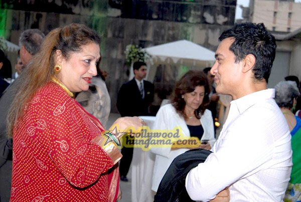 """So, Aamir, why don't you ever smile like that at all the other aunties?"""